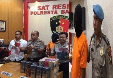Pegawai Dishub Batam Kena OTT Polisi Terkait Penyelundupan Miras dari Batam ke Karimun