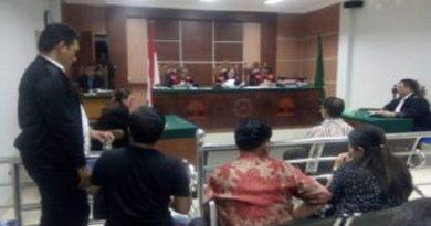 Amat Tantoso di Tuntut 4 Bulan Penjara ,Terkait Penikaman WNA