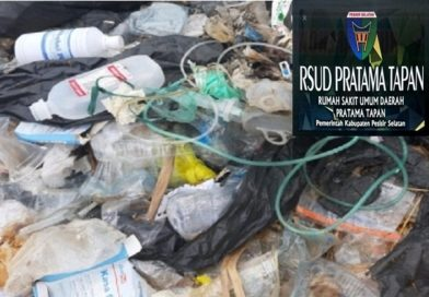 Limbah Rumah Sakit RSUD Pratama Pesisir Berserakan Masyarakat Terancam