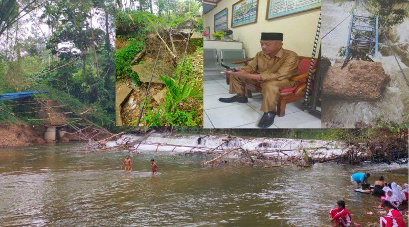 Ribuan Jiwa Menjerit. 5 Bulan Jembatan Gantung di Nagari Lubuk Alai Ambruk.