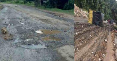 Proyek Milik PUPR Jalan Nasional Diduga Lemahnya Pengawasan.Pelaksana PT Cahaya Tunggal Abadi TA 2020 Rp 55.760.039.000