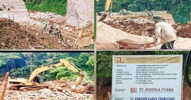 Menyoal Tangung Jawab PPK di Proyek Embung Talago Tanjung Haro