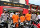 Polsek Sagulung Ungkap Tindak Pidana Pencurian 40 Sepeda Motor