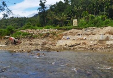 Lembaga MT-AB Sorot Proyek Milik SNVT Batang Sumpur RP 12 M Pengendalian Banjir Pasaman.TA 2021